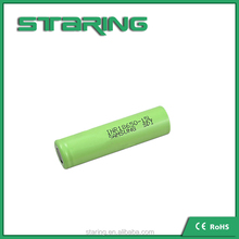 High quality INR18650-15L lithium ion samsung 18650 battery 3.6v 1500mah rechargeable battery