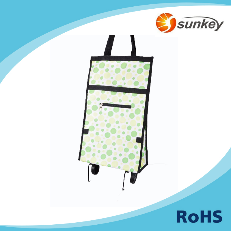 Rolling Shopping Tote Trolley Bags with Wheel