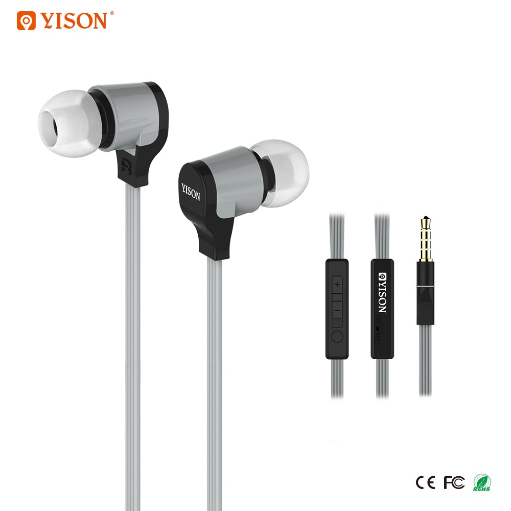 YISON CX370 Flat cable Earphone Headphone for Nokia N73