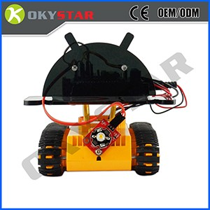 Ultrasonic obstacle avoidance intelligent smart Chassis car kit robot
