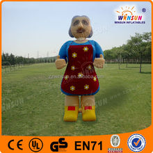 Fashionable Design Advertising Hot Selling Inflatable Old Woman