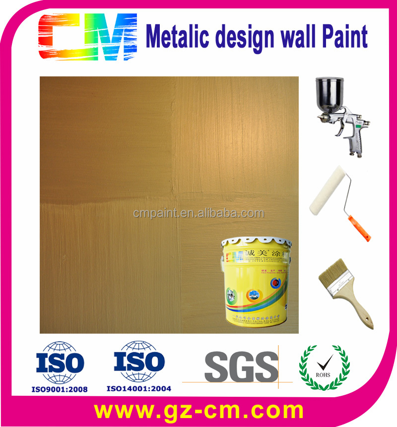 Hot selling Metallic Interior Wall Paint Colors For Sale