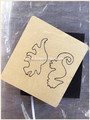 Animal shape scrapbooking/crafts die cut 15.8mm thick fit sizzix big shot