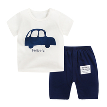Kids Clothing Sets T-Shirt + Pants Summer Children's Casual Suit Boys Clothes