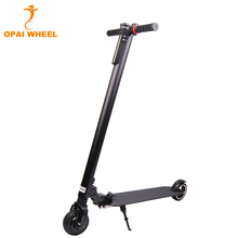 Adult 2 Wheel 5 Inch Aluminium Alloy Foldable Electric Scooter With Shock Absorber And LED Light