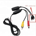 2.4g Wireless Video Transmitter & Receiver for Car Backup Camera
