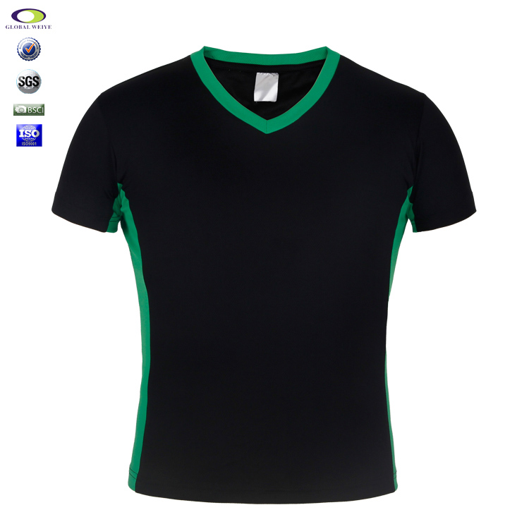 Wholesale Dry Fit Custom Black Blank Gym T Shirt For Man