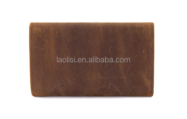 Genuine leather wallet to import for men