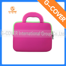 "wholesale 10"" waterproof shockproof laptop case bag with handle for girls"