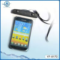 outdoor sport transparent waterproof case for samsung note3