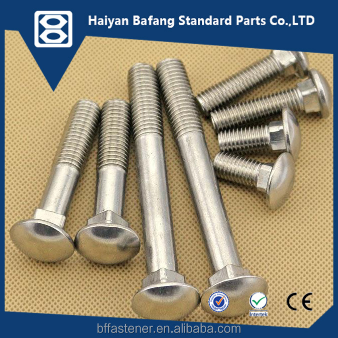 Satisfactory price bolt and nut DIN603 carriage xxx bolts