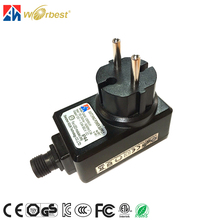 Switching Mode DC Power Supply 6volt 1000mA Waterproof Adapter 6w