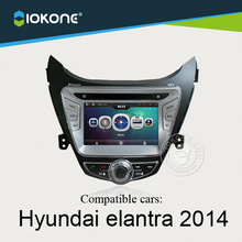 OEM Car DVD Player for Hyundai Elantra 2014 with Special User Interface from China factory