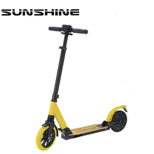 Green power adult 2 wheel folding seniors 2 wheel electric scooter for adult