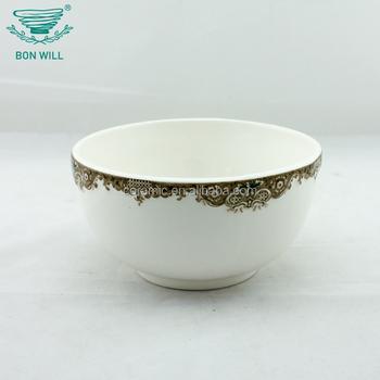 Cheap custom printed logo disposable salad ice cream bowl