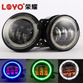 "Hot sale! 4"" 30w led fog lamp with evil/ angel eye for jeep wrangler JK"
