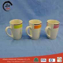Low price of square ceramic mug With ISO9001 Certificate