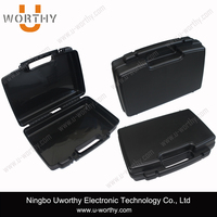 low price plastic equipment instrument case with padding foam insert 430x310x120mm