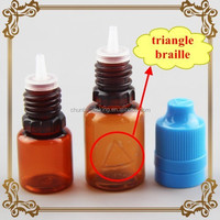 small plastic tactile warning triangle stickers/labels hot sale in UK