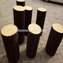 Artificial wood log For window display