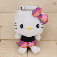 Hair Phone Case lovely cat Soft Cover Cartoon Case for iphone6