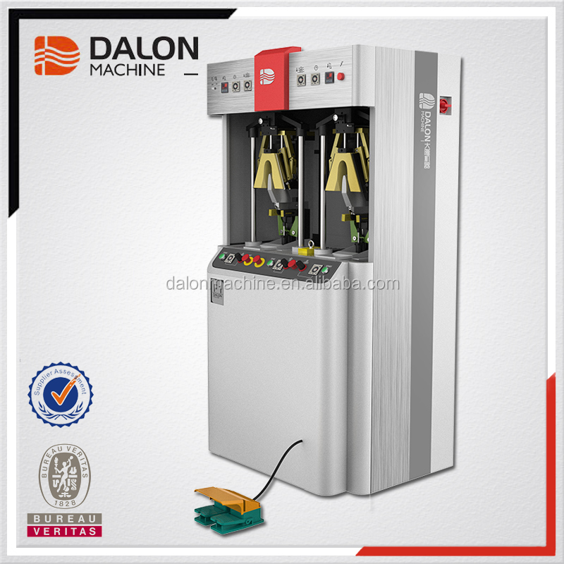 Dalong F1 Shoes counter backpart moulding setting machine shoes-making machines