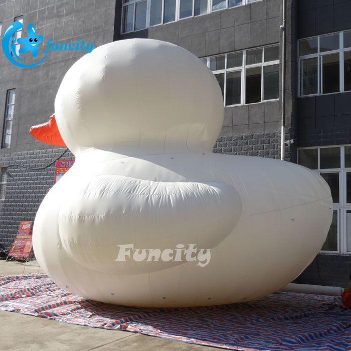 Big Inflatable Yellow Duck / Giant Inflatable Advertising Duck / Big Water Floating Duck