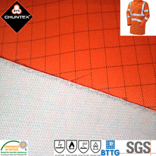 300D Polyurethane Coating Polyester Oxford DWR Laminated DTY Fabric with Polyester Tricot