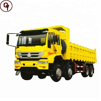 Sinotruk howo 8x4 Golden Prince dumper tipper truck for sale
