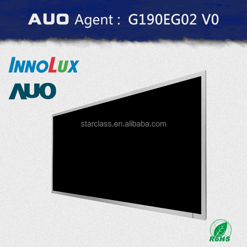 AUO AGENT 19 inch LCD/Industry display panel/TFT/G190EG02 V0