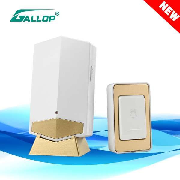 2016 Gallop hot sale new products DC Remote Control digital wireless doorbell D151