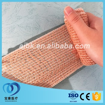 surgical dressing crepe cotton bandage roll with CE ISO FDA approved