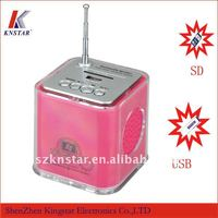 T-630 mini sound box speaker with fm