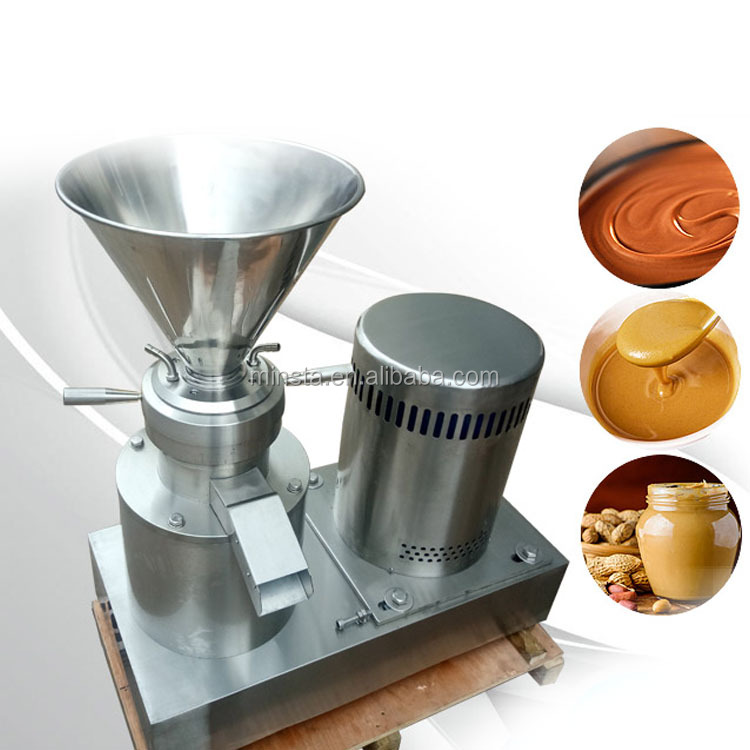 Automatic universal electric Stainless steel peanut butter Colloid Mill / Peanut Butter Grinder/Sesame paste making machine