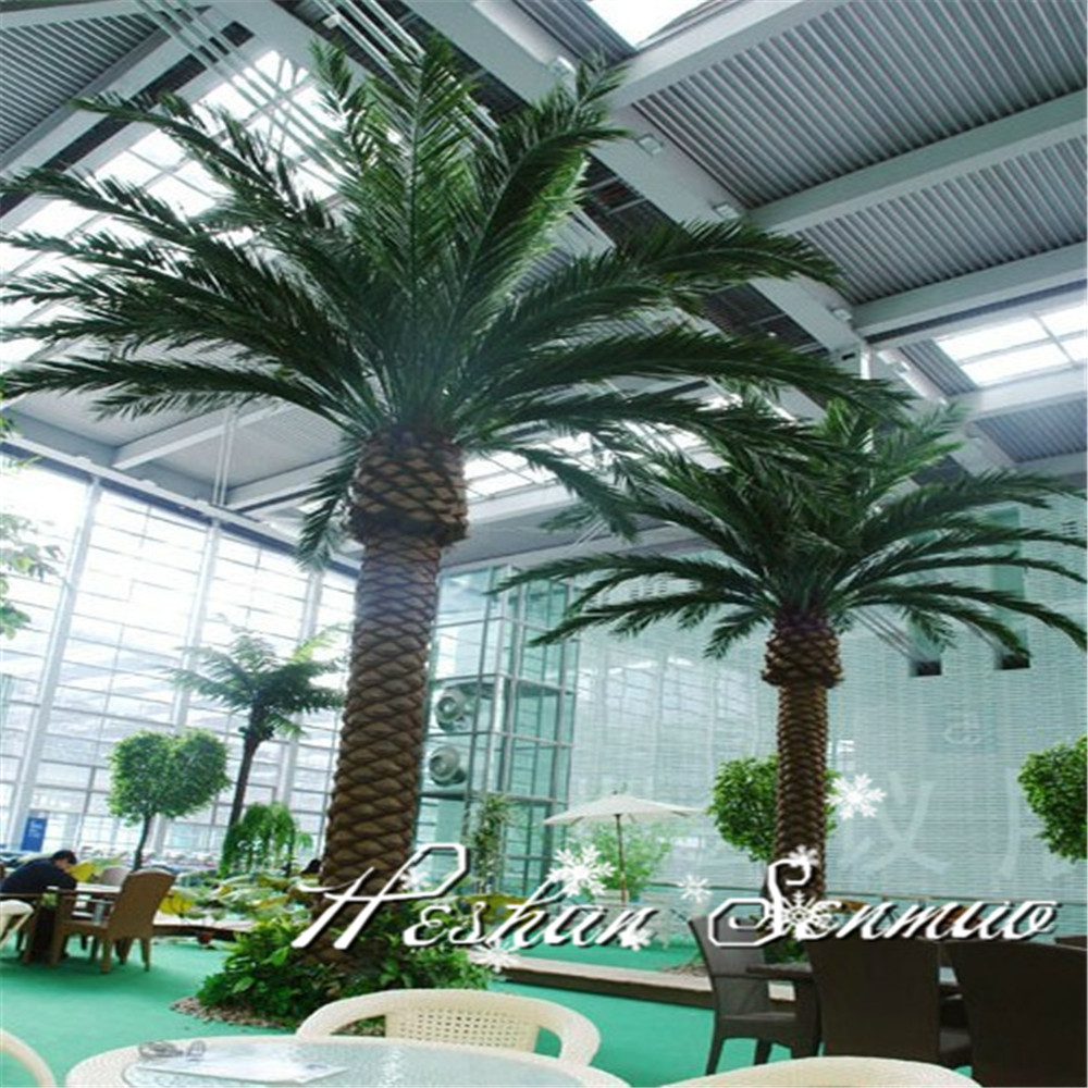 New Product artificial big palm tree large outdoor artificial trees