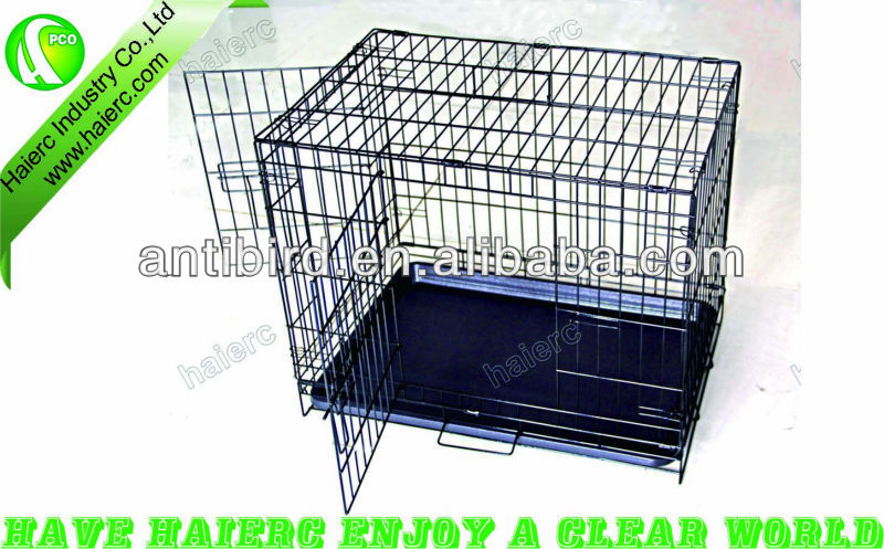 large dog crate metal welded wire dog cage kennel dog show cage