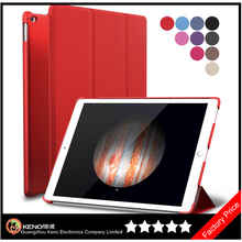 Keno Slim Fit Folio Smart Stand Case Premium Rubber Coated Cover Non Slip Surface with Auto Wake/Sleep Feature for iPad Pro