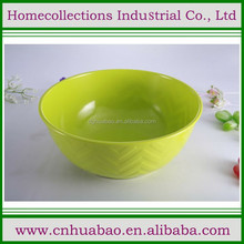 melamine lime green fruit bowl