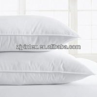 Good quality high soft duck down cheap feather bed pillows