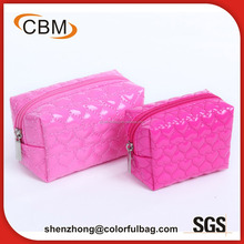 Eco recycle fashion travel organized makeup cosmetic bag