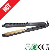 Pro New Korean Ceramic Plate 3D Floating Type Hair Straightener Straight and Curling Styling Wand Tools Hair Straightening Irons