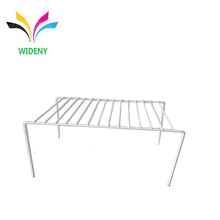 Chrome Plated Metal Counter Small Kitchen Rack for Dish Holder