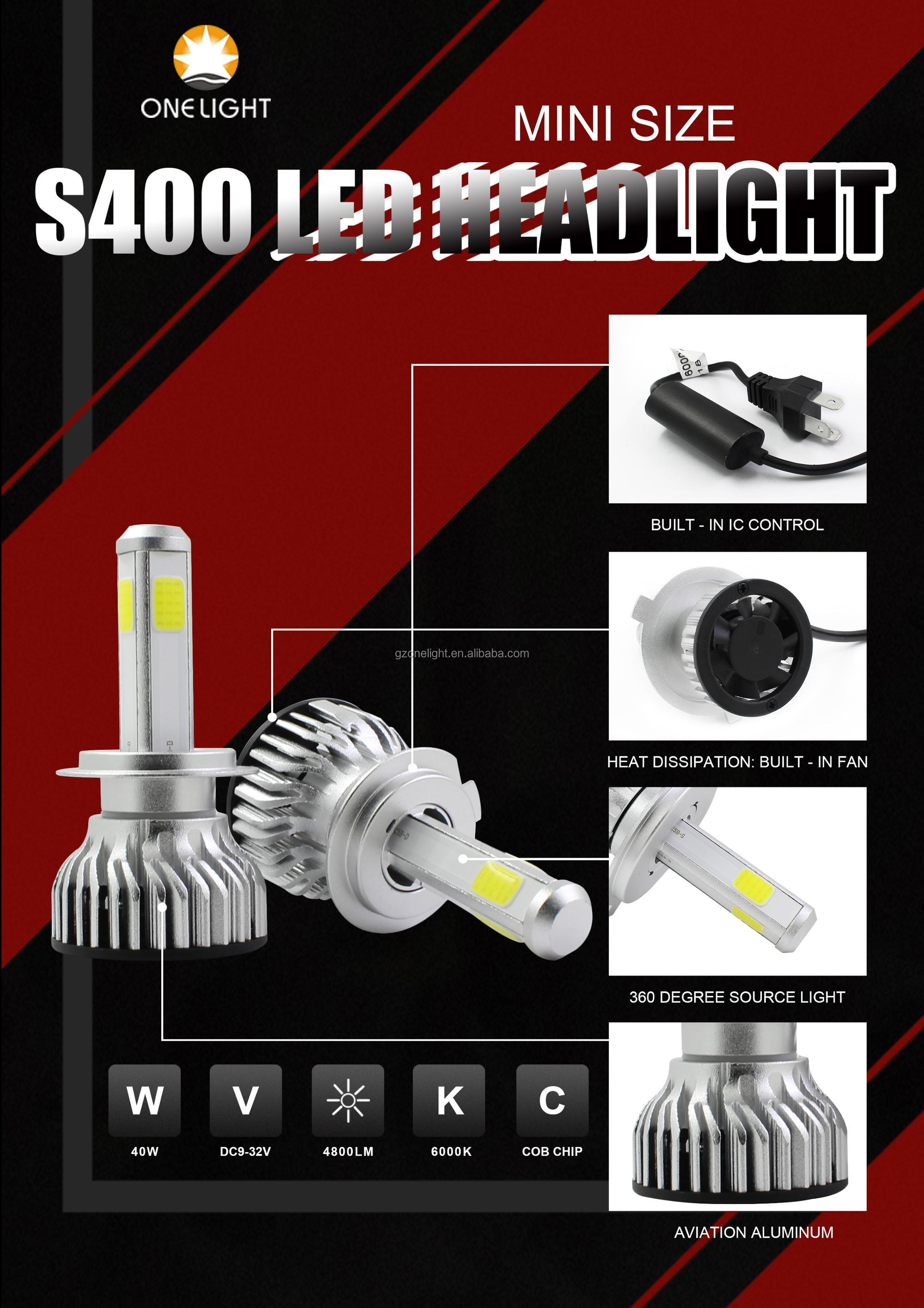 S400 car led headlight