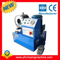 China Supplier for PTFE Stainless Steel Braided Hose crimping machine