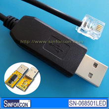 FT232RL + SP485LEEN USB RS485 to RJ12 cable