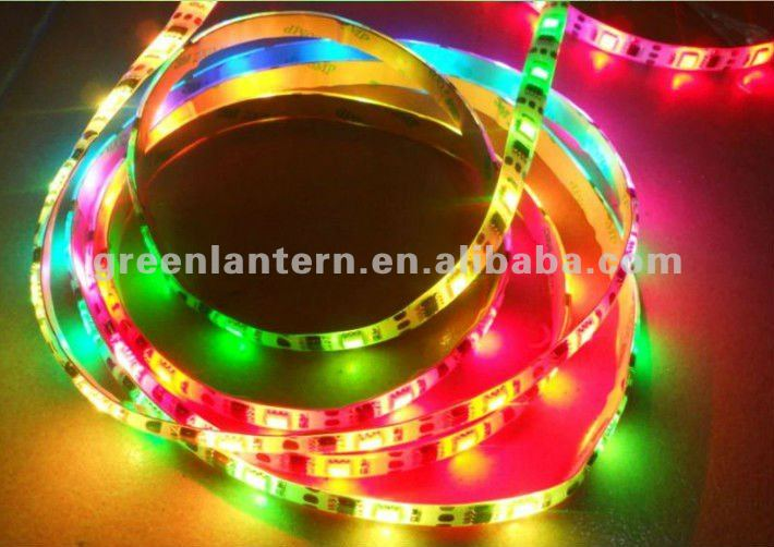 rgb color changing led strip light 3001