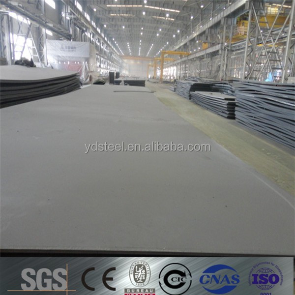 manganese steel plate/ship building steel plate/alloy steel plate price per kg,China origin