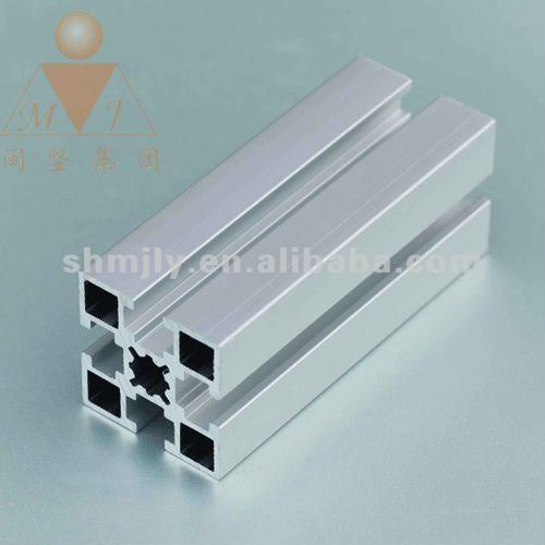 bendable aluminum anodized and mill finish 6063-t5/6061-t6 extruded aluminum