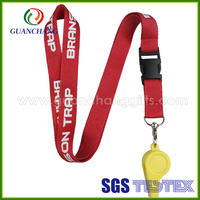 Police whistle lanyard for titleist