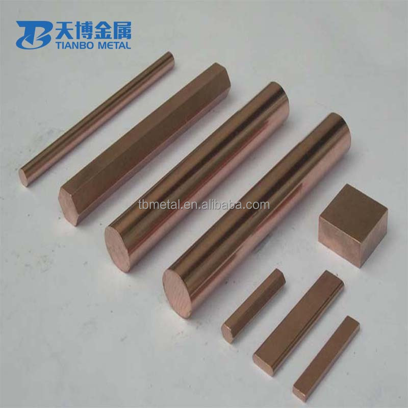 China alibaba wcu alloy tungsten copper alloy 70/30 bar polished